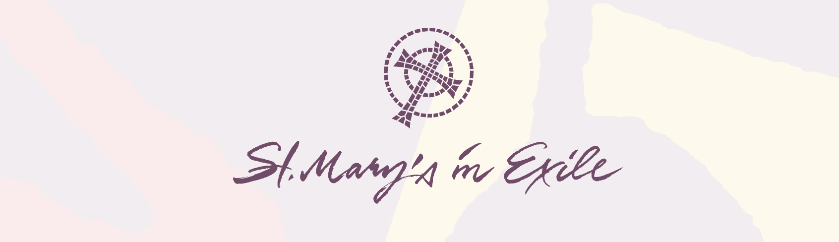 Chatting at St Mary's in Exile