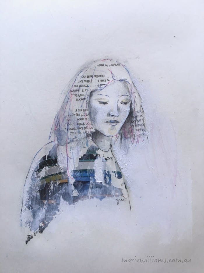 Gela-Marie Williams Art: Woman of Possibility