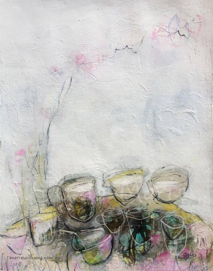 Tea Cups and Tabletops by Gela-Marie Williams