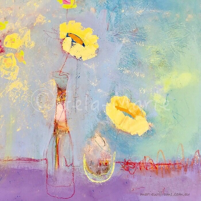 Expressive florals by Gela-Marie Williams