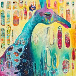 giraffe by Gela-Marie Williams