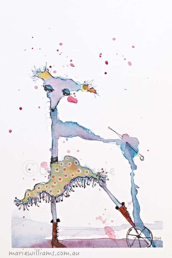 Turning Failure Upside Down illustrations by Gela-Marie Williams